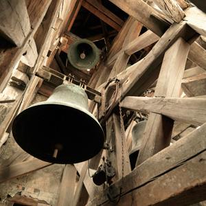 Les cloches installées au début du XXe siècle.