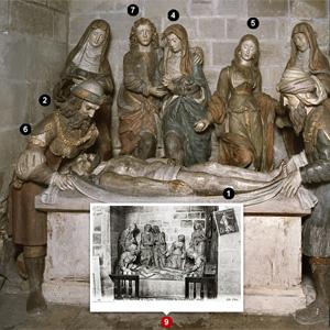 La mise au tombeau de la collégiale de Poissy