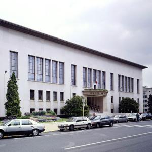 L'hôtel de ville de Boulogne-Billancourt