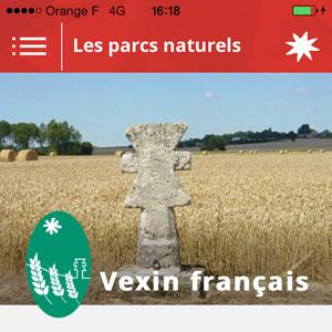 Application Parcs naturels