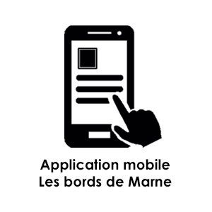 L'application mobile sur les bords de Marne