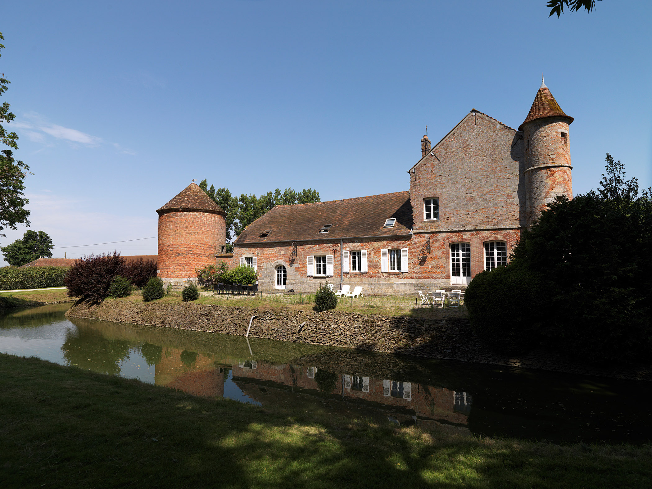 Manoir de Courcelles à Mormant (77)