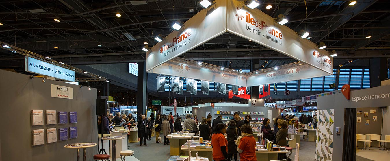 Salon du Livre stand IDF 2016