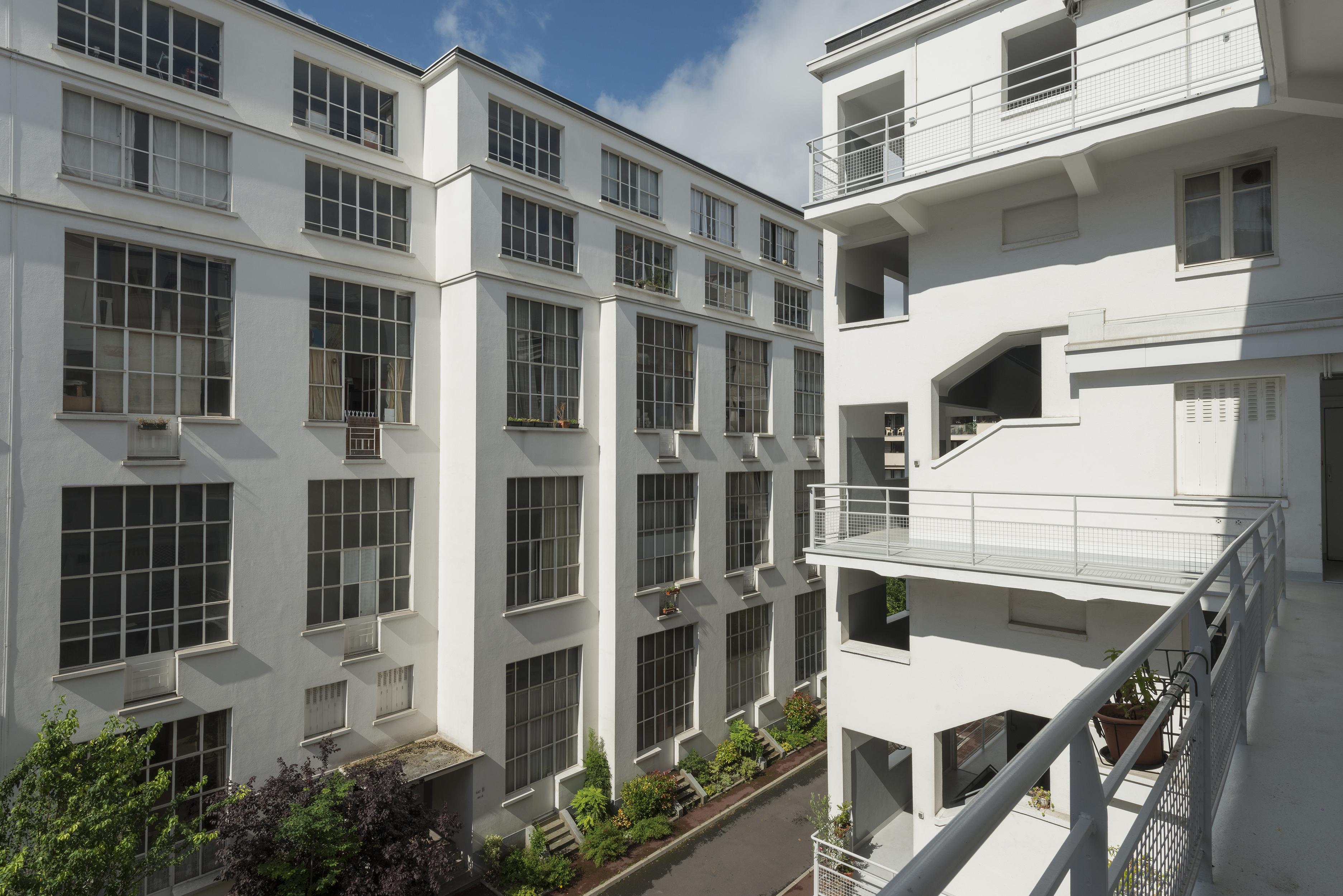 Cité Montmartre aux artistes rue Ordener à Paris 13ème
