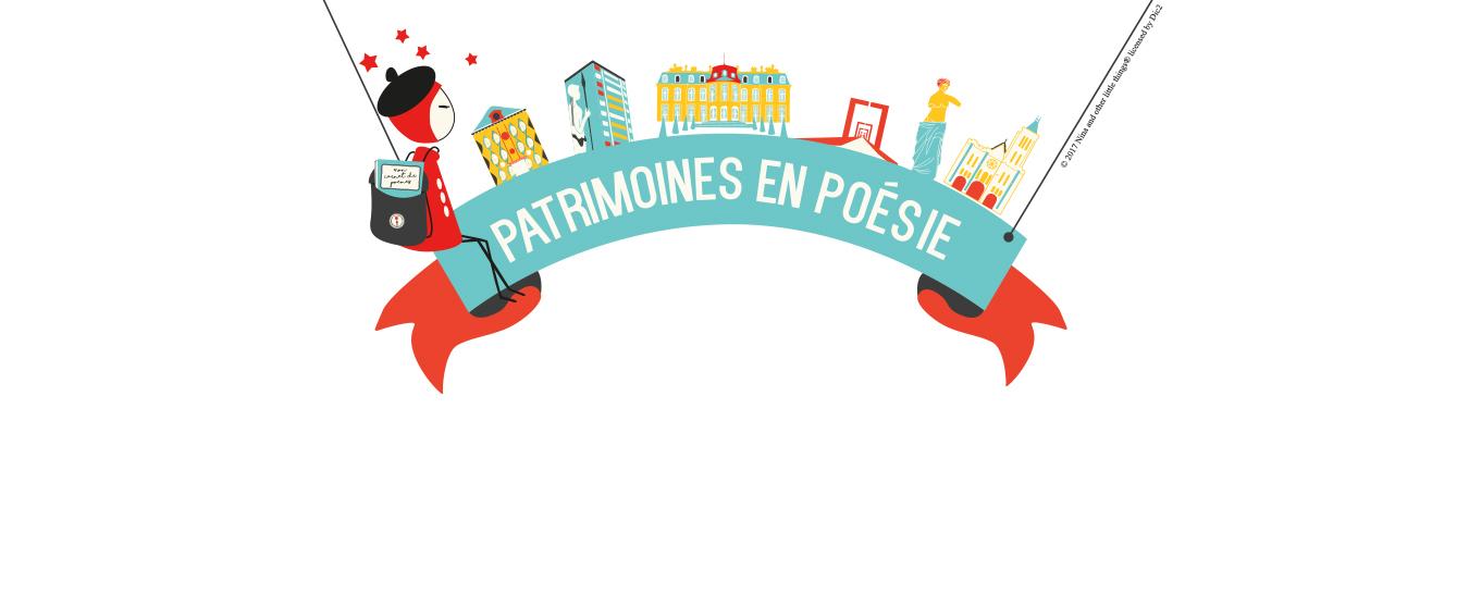 """Grand jeu-concours """"Patrimoines en poésie"""" 2017"""