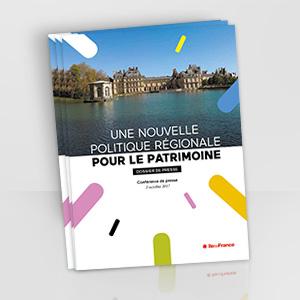 Dossier de presse - nouvelle politique patrimoniale en Île-de-France