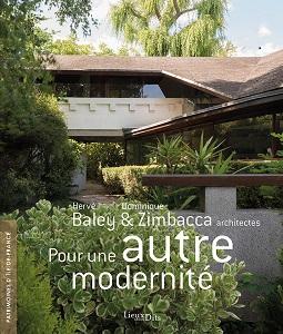 Couverture de l'ouvrage Hervé Baley et Dominique Zimbacca, architectes – Pour une autre modernité