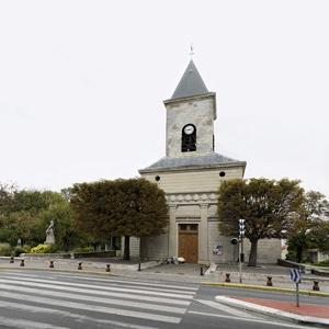 Façade de l'église
