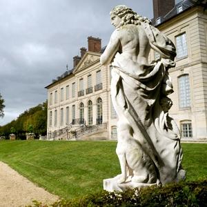 """Château du """"haut"""" du domaine de Villarceaux"""