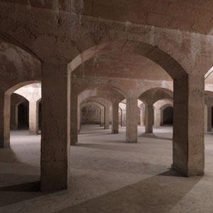 Réservoir de la maison du Fontainier créé au XIXe siècle par les ingénieurs Mary et Lefort.