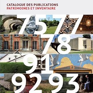 Catalogue des publications de l'Inventaire 2018