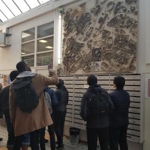 Visite de l'ENSA Paris-Malaquais par les lycéens